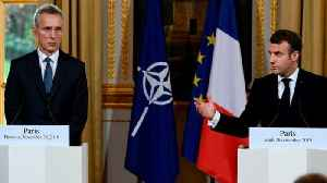 News video: Is Macron's NATO 'brain dead' comment a wake-up call?
