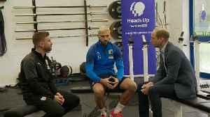 Prince William Talks Mental Health At English Soccer Club [Video]