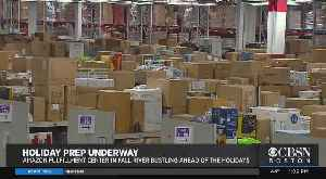 Fall River Amazon Fulfillment Center Ready For Black Friday Madness [Video]
