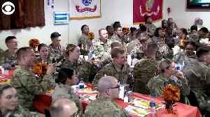 News video: WEB EXTRA: President Trump In Afghanistan For Thanksgiving