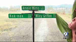 Mayor Lucy Vinis announced the names of three new streets in Eugene on Tuesday. [Video]