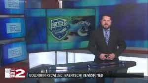 Goldobin recalled, Baertschi reassigned [Video]