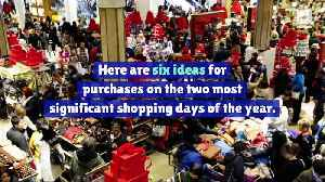 News video: 6 Unexpected Buys on Black Friday and Cyber Monday