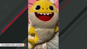 Stray Bullet Hits 'Baby Shark' Toy Possibly Saving Sleeping Toddler's Life [Video]