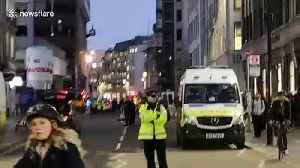 Strong police presence near London Bridge after attack sees one shot and several injured [Video]