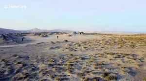 Otherworldly drone footage of Azerbaijan's oozing mud volcanoes [Video]