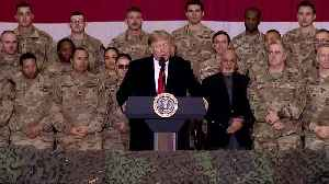 In Afghanistan, Trump voices hope for ceasefire [Video]