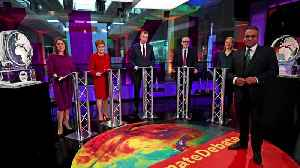 News video: Boris Johnson replaced by ice sculpture at debate