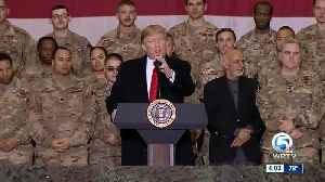 President Trump returns to South Florida from Afghanistan [Video]