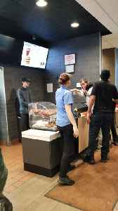 Fast Food Argument Escalates into Food Fight [Video]