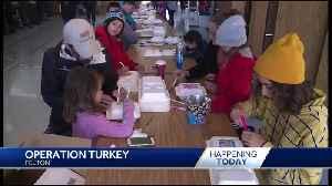 Volunteers take part in Operation Turkey in Felton [Video]