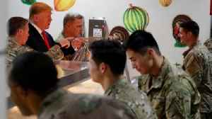 Trump's Thanksgiving with US troops in Afghanistan [Video]