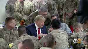 News video: President Trump Makes Surprise Trip To Afghanistan