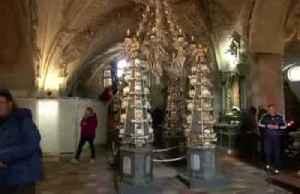 Czech chapel of bones to kill photo ops [Video]
