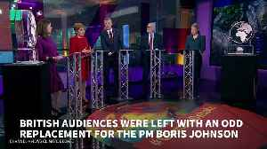Channel 4 Replaces Boris Johnson With An Ice Sculpture At Climate Change Debate [Video]