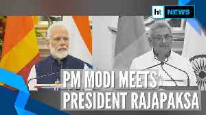PM Modi & Sri Lankan president discuss security & counter terrorism [Video]
