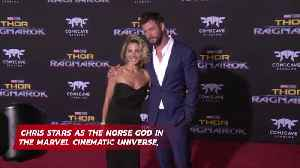 Elsa Pataky won't let Chris Hemsworth display his Thor memorabilia in their dining room [Video]