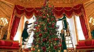 News video: Queen of Christmas! Windsor Castle Has Been Decorated for the Holidays