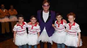 Elton John dons tutu for surprise Billy Elliot the Musical appearance in Australia [Video]