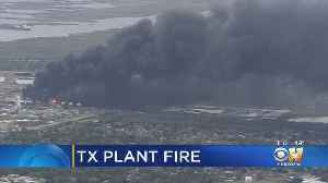 Texas Chemical Plant Fire Contained, Evacuations Lifted For 50K People [Video]