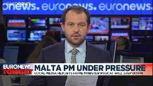 Malta PM Joseph Muscat 'plans to resign' over murdered journalist Daphne Caruana Galizia [Video]
