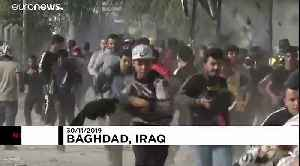 Security forces open fire at protesters after trying to block road in Baghdad [Video]