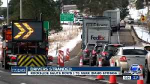 I-70 reopens near Idaho Springs after rockfall mitigation [Video]