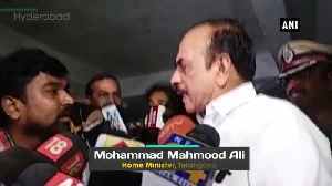 Hyderabad Rape murder case Deeply saddened she was like my own daughter says Telangana HM [Video]
