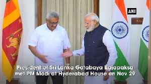 Sri Lankan President first overseas trip to India shows strength of friendship between both countries PM Modi [Video]