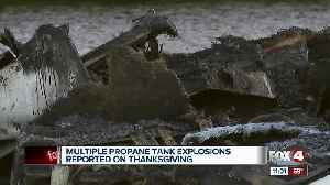 Multiple propane tank explosions reported on Thanksgiving [Video]