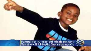Family, Friends To Hold Funeral For 10-Year-Old Micah Tennant In Atlantic City [Video]