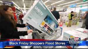 Black Friday Shoppers Flood Stores [Video]