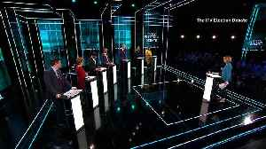Political parties clash at the ITV Election Debate [Video]