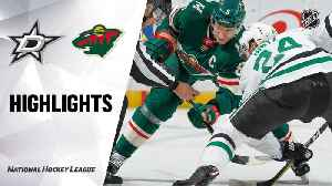 NHL Highlights | Stars @ Wild 12/01/19 [Video]