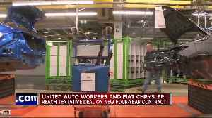 UAW-FCA reach tentative deal on new four-year contract [Video]