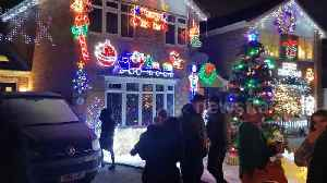 News video: Does this UK street have the best lights this Christmas?