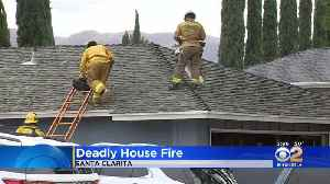 Two People Killed In Bedroom Fire in Santa Clarita [Video]