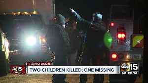 News video: Search continues for 6-year-old girl missing after Tonto Basin flash flooding