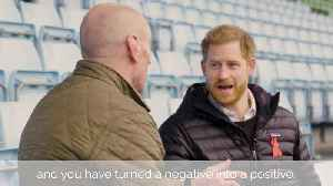 Gareth Thomas opens up to Prince Harry about breaking HIV stigma [Video]