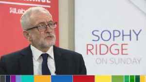 News video: Corbyn: Terrorists 'should not necessarily' serve full jail terms