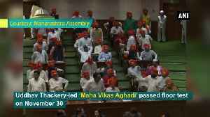 CM Uddhav Thackeray-led Govt passes floor test in Maharashtra Assembly [Video]