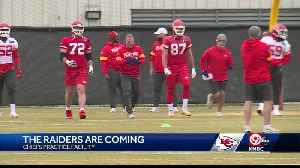 Chiefs ready for key AFC West game against the Raiders [Video]