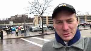 Reporter Update: Chris Hoffman--Steelers and Browns Meet After Brawl [Video]