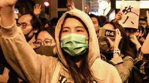 Hong Kong protests: Authorised marches held across city [Video]