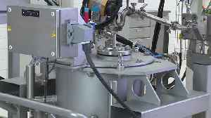 """Battery cell production at Volkswagen Salzgitter, production steps """"dosing and mixing"""" [Video]"""