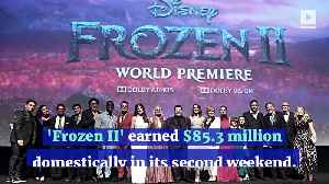 'Frozen II' Sets New Thanksgiving Box Office Record [Video]