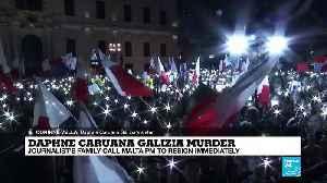 Family of Daphne Caruana Galizia calls for Malta PM to resign immediately [Video]