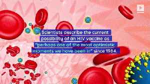 HIV Vaccine Might Be Available in 2021 [Video]