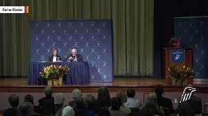 News video: Jimmy Carter Back In Hospital Over Infection