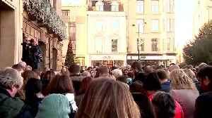 News video: Vigils held for London Bridge victims